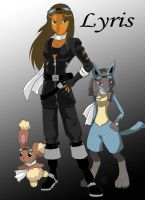 OC Pokemon Ranger-Lyris by lovetheangelshadow
