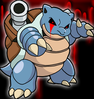 NO.09 Blastoise by CHARIZARD205