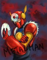 Megaman - 009 Metalman by LotusMartus