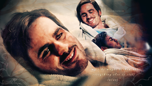 Captain Hook / Killian Jones wallpapers hospital by Venerka