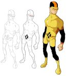 Cyclops Sketching by ComicFiction