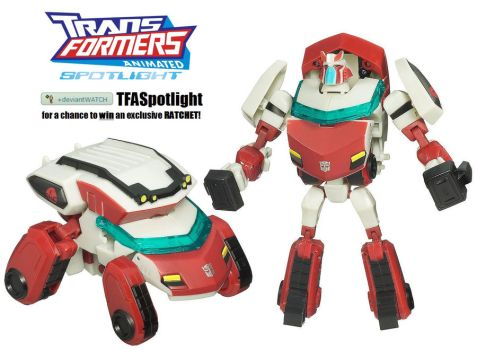 Win RATCHET by TFASpotlight