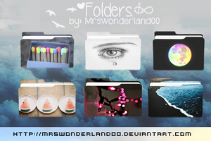 Folders. by MrsWonderland00