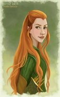 Tauriel by robotnixie