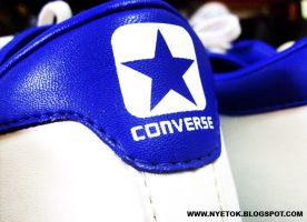 CONVERSE BLUE by mobber