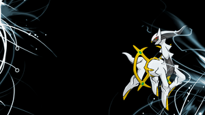 . Pokemon Wallpaper . Arceus . by Flows-Backgrounds