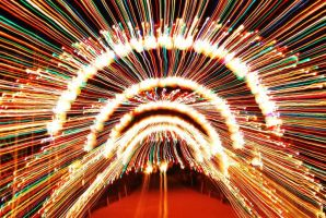 Christmas Light Speed by SublimeBudd