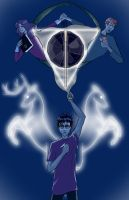 The Deathly Hallows by DeeDraws