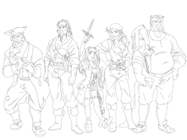 .: The Crew :. by PirateHearts