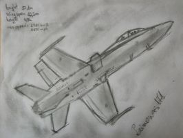 FA18 drawing by laimonas171