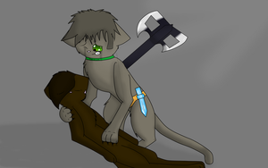 Catbuscus and Lydia by Darkstar-The-Great