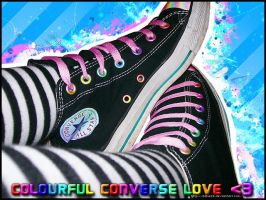 Colourful Converse Love by Katie23