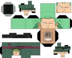 Roronoa Zoro Time Skip by hollowkingking