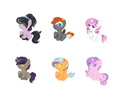 Mixed ship adopts (CLOSED) by Monster-Drool