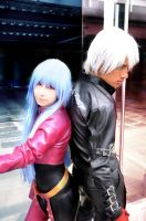 K and Kula Cosplay by MaryMagika