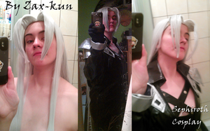 Sephiroth Cosplay Test 2 by ZaxCosplay