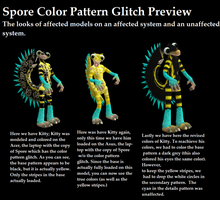 Spore: Color Pattern Glitch Preview by PukingRainbow