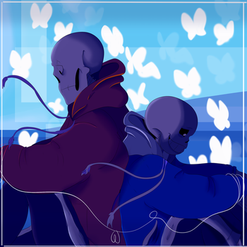 Here comes a thought- Stretch/Sans by llWanderll