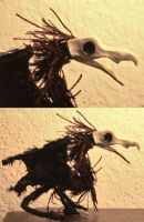 Bird Creature Puppet by MichellePrebich