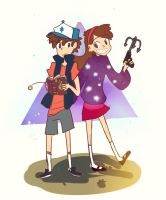 Gravity Falls: The Mystery Twins! by arrival-layne