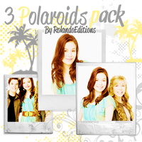 3 Polaroid's pack by RolandoEditions