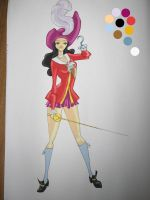 Sailor Hook colored by MLFischer