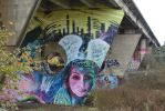 Graffiti bridge by monstermouthdesigns