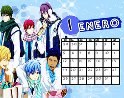 Calendario|Enero2014 by athenayabuki