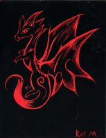 Red Dragon by DragonEye357
