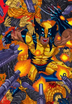 X Men : Wolverine by 3Dx2Y