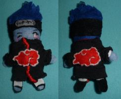 Naruto, Kisame mini plush by Mayu-96
