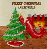 Crustaceans and Xmas Oh My by Trigar