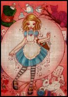 Alice In Frikkin' Wonderland by bethwhowishes