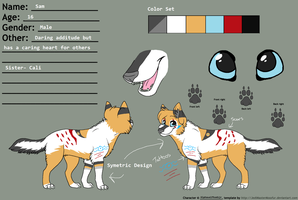 Official Sam Reference Sheet 2013-2014 by AlphaWolfKodijr