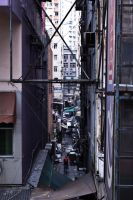Alley in Mongkok by lazyseal8
