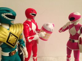A Zyuranger White Day by eternalview