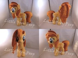 MLP OC Graceful Sunrise Plush (commission) by Little-Broy-Peep