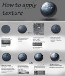 How to apply texture - tutorial by NThartyFievi