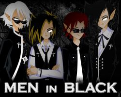 """Men in Black"" by DoubleDead"