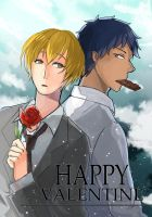 Aokise for Valentine's day by zeneria29