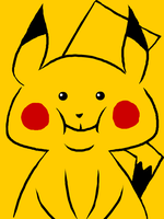 Chubby Pikachu by bloominglove