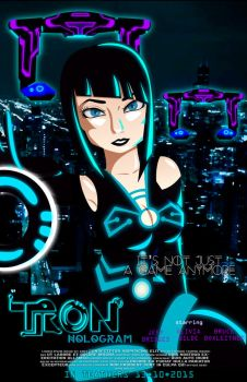 Tron - Hologram by IgnaciaH