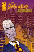 The Disgruntled avenger issue #97 cover by exspasticcomics