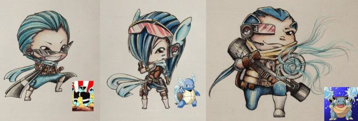 SQUIRTLE SQUAD by jejejeca
