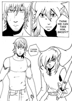 Manga Homework-Link and Brody by Septic-Art