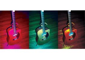 Warhol Guitar by SonicHomeboy