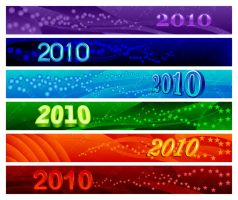 2010 web banner pack by scorpy-roy