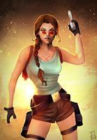 'Just Lovely.' - 20 Years of Tomb Raider by Forty-Fathoms