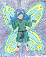 Butterfly Person XD by little-ampharos