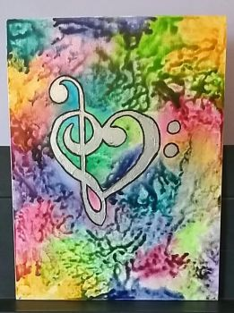 Bass/Treble Clef Heart by The-Snail-Lady